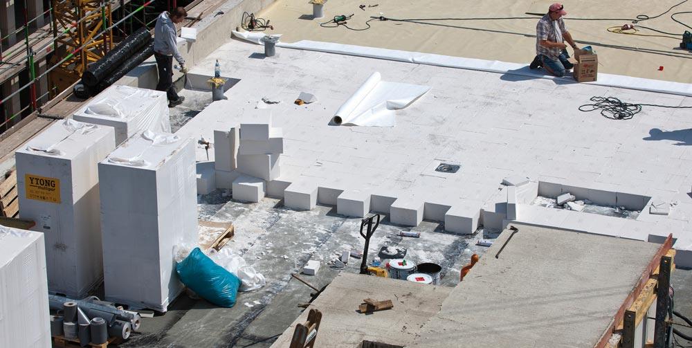 Izolacija ravne strehe - Multipor plošče