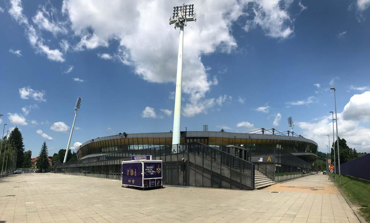 Obnova tribun stadiona Ljudski vrt