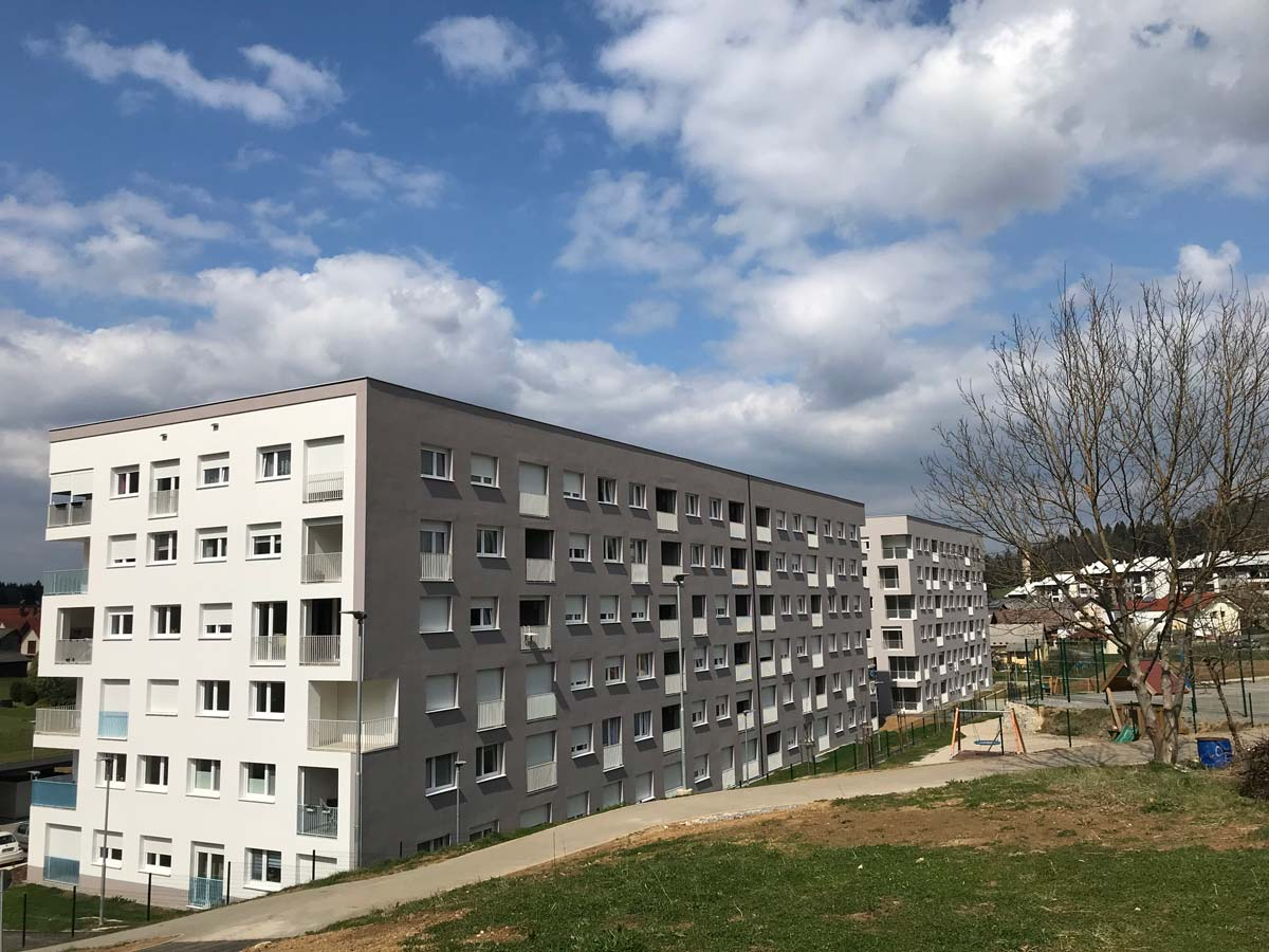 Stanovanjsko naselje Mrzla dolina